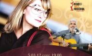 """Grażyna Auguścik i Paulinho Garcia: """"The Beatles Nova"""" – piosenki zespołu The Beatles w niezwykłych, latynoskich aranżacjach na gitarę i dwa głosy (5.03.12)"""