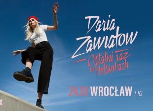 Daria Zawiałow – Ostatni raz w Helsinkach – Wrocław – (08.03.21)
