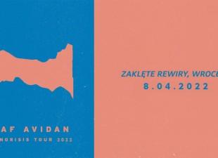 Asaf Avidan wystąpi we Wrocławiu! (08.04.22)