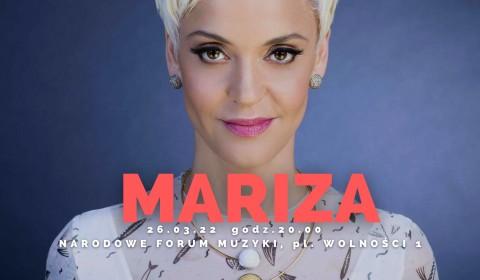 MARIZA zaśpiewa we Wrocławiu! (26.03.22)
