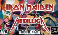 Tribute Night: Iron Maiden & Metallica (22.10.19)