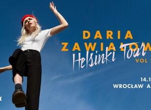 Daria Zawiałow | Helsinki Tour vol2 – Wrocław 14.12
