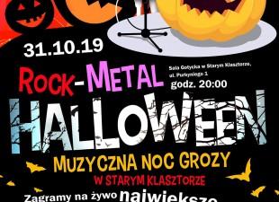 Rock – Metalowe Halloween – Muzyczna Noc Grozy w Starym Klasztorze! (31.10.19)