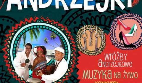 Karaibskie Andrzejki z zespołem Jose Torres & Havana Dreams! (30.11.2019)