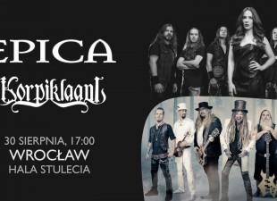 Epica i Korpiklaani zagrają na zakończenie wakacji we Wrocławiu! (30.08.20)