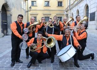 Fanfara Transylvania bałkańska orkiestra dęta zagra w Klasztorze (20.02.20)