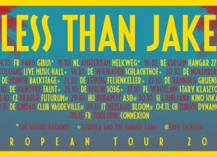 Less Than Jake zagra we Wrocławiu! (27.10.20)