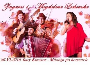ZINGAROS NEW GYPSY TANGO z Argentyny w Starej Piwnicy! (26.06.16)