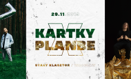 Kartky oraz PlanBe zagrają w Starym Klasztorze! (29.11.19)