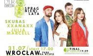"""SKUBAS, JULIA MARCELL i XXANAXX zagrają we Wrocławiu w ramach trasy """" Spragnieni Lata"""" (31.07.15)"""