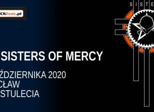 The Sisters Of Mercy oraz Peter Hook zagrają we Wrocławiu! (24.10.20)