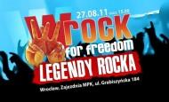 wROCK for Freedom – Legendy Rocka we Wrocławiu na zakończenie wakacji! (27.08.11)